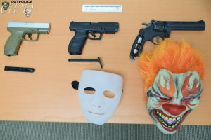 Pellet guns and clown gear seized from Texas teens involved in a unnerving home invasion