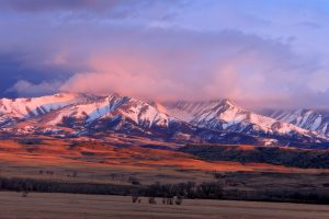 Montana's Crazy Mountains, where hunter Mark Rollins fell to his death in September.
