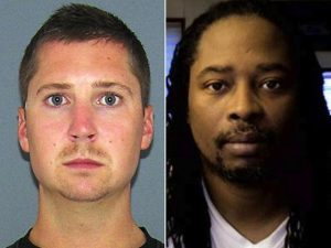 Officer Ray Tensing's (left)  shooting of Samuel DuBose (right) triggered protests