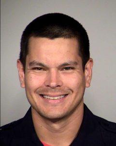 Officer Matthew Luckhurst got canned for his sick sense of humor