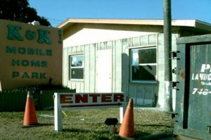 Explosives were found in the vacated home of a WWII vet in this Florida mobile home park