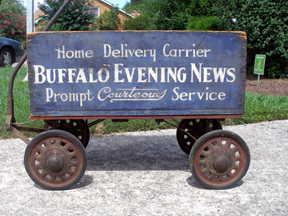 A Buffalo News delivery man was looking for a way to make some extra green